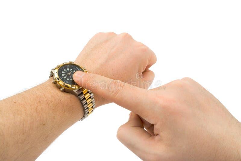 现有量炫耀手表 免版税库存照片