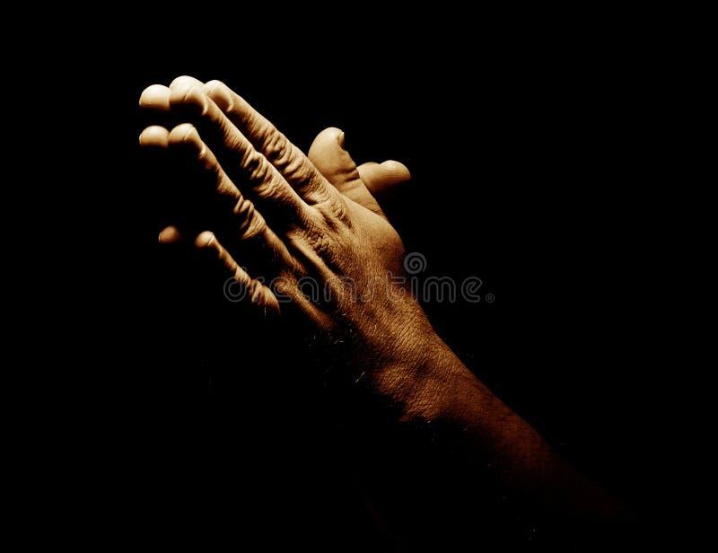 现有量祈祷 免版税图库摄影
