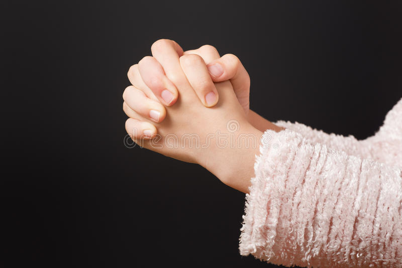 现有量祈祷 免版税库存图片