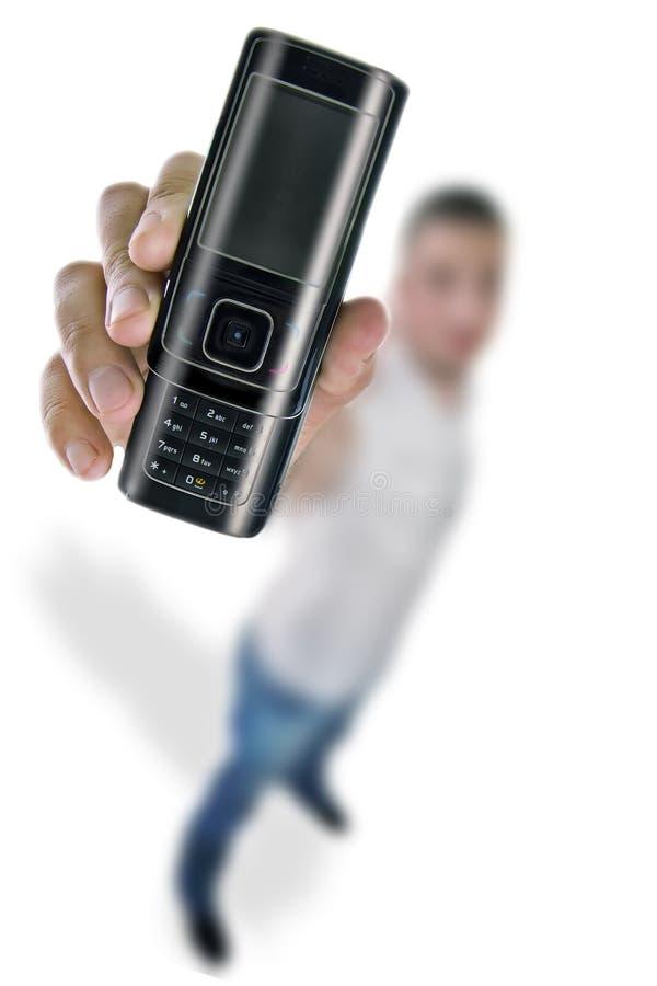 现有量移动电话 库存图片
