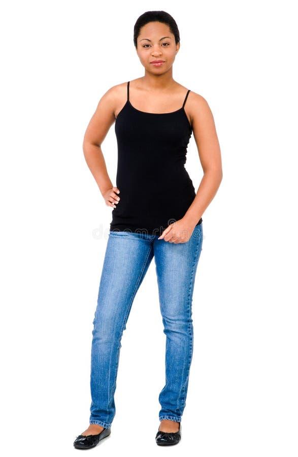 现有量臀部妇女 免版税库存图片