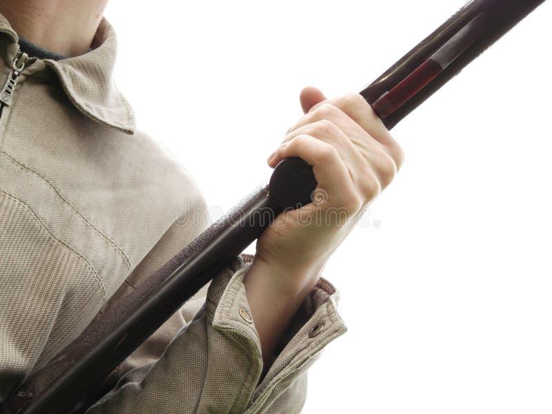 现有量藏品人步枪s 库存图片