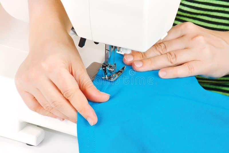现有量设备裁缝缝合 库存图片