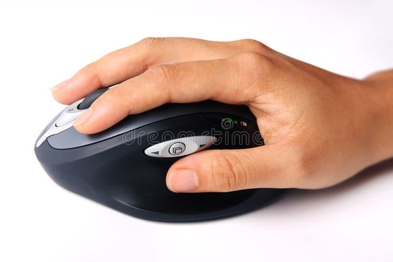现有量鼠标无线 库存图片
