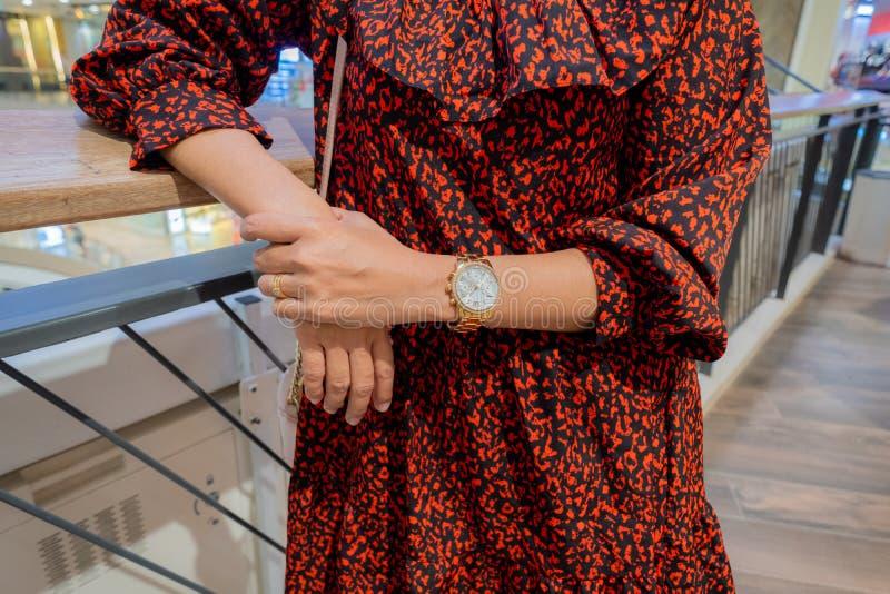 现有量s妇女手表 免版税库存照片