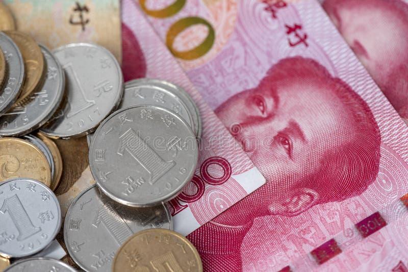 现金、硬币和钞票,金钱,RMB 库存照片