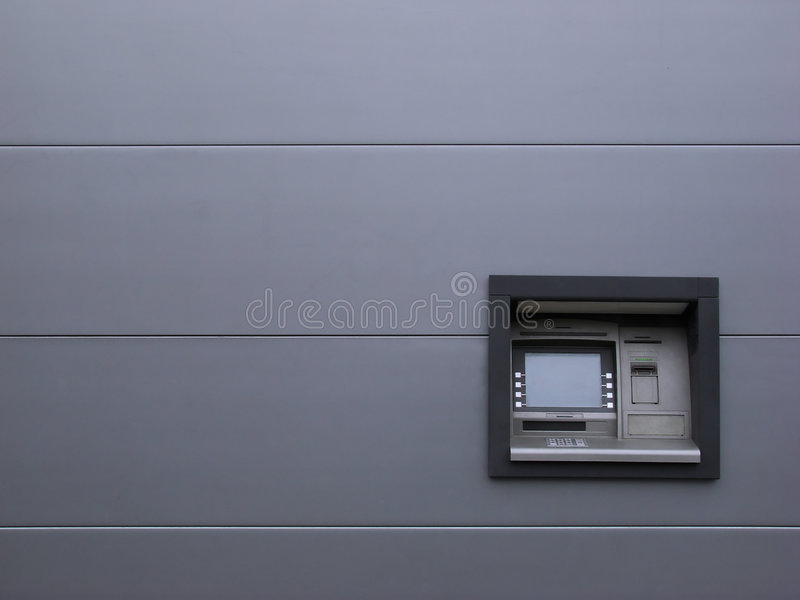 现金分送器 库存图片