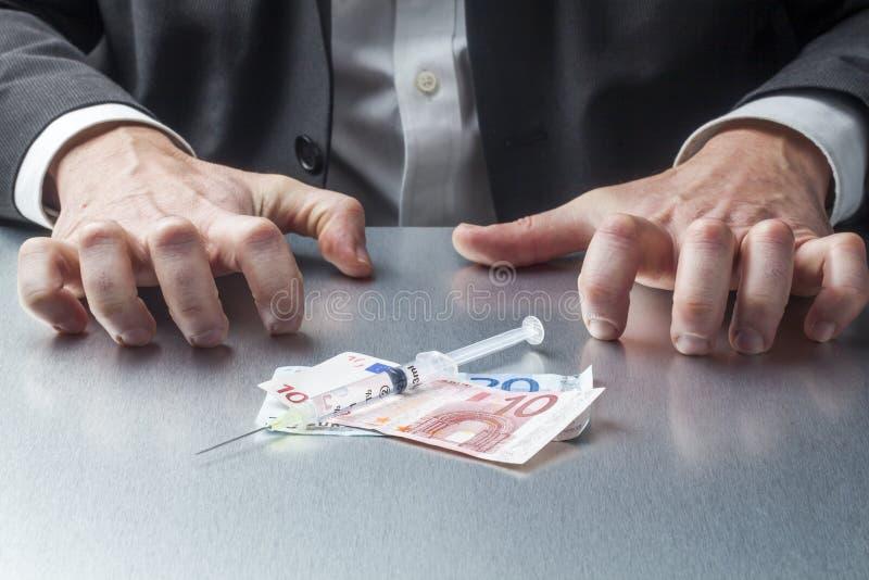 现金或药物企业概念的 免版税库存照片