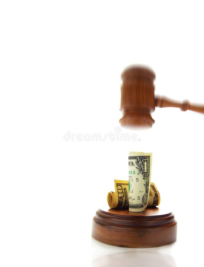 现金抽杀 免版税库存照片