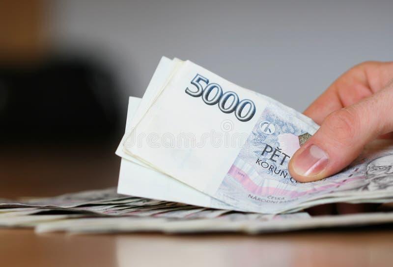 现金支付 免版税库存图片
