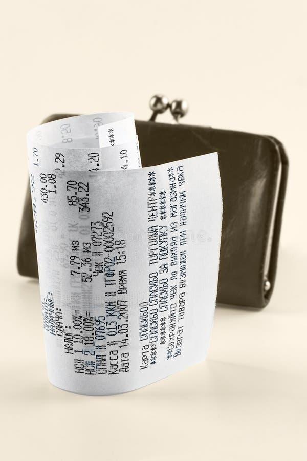 现金收款 免版税库存图片