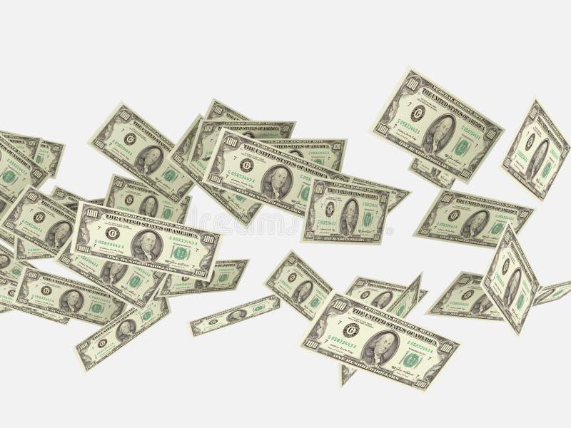 现金流量 向量例证