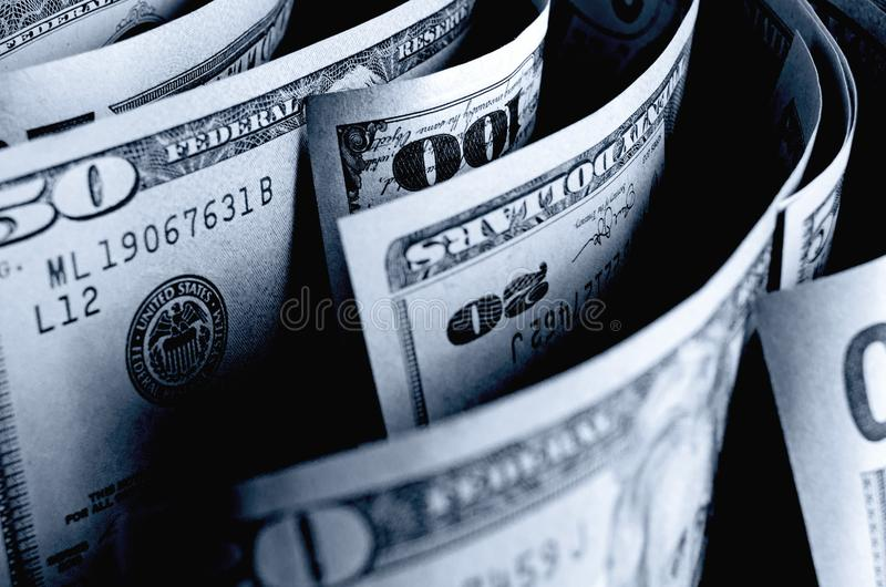现金美元 免版税库存图片