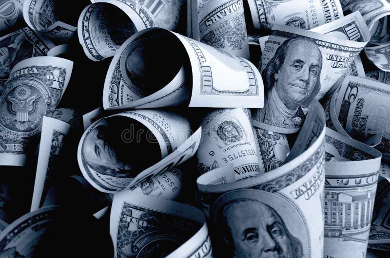 现金美元 库存图片