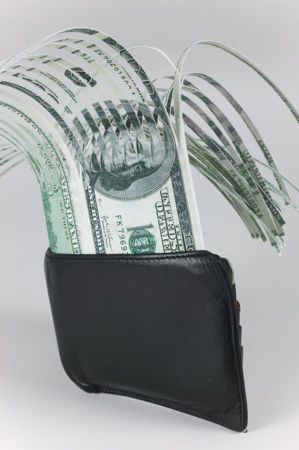 现金钱包 免版税图库摄影