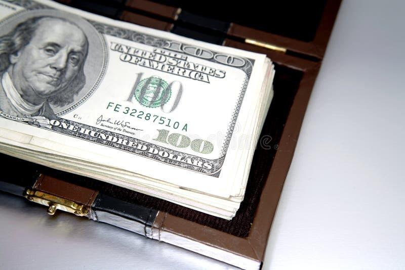 现金,万一 免版税库存照片