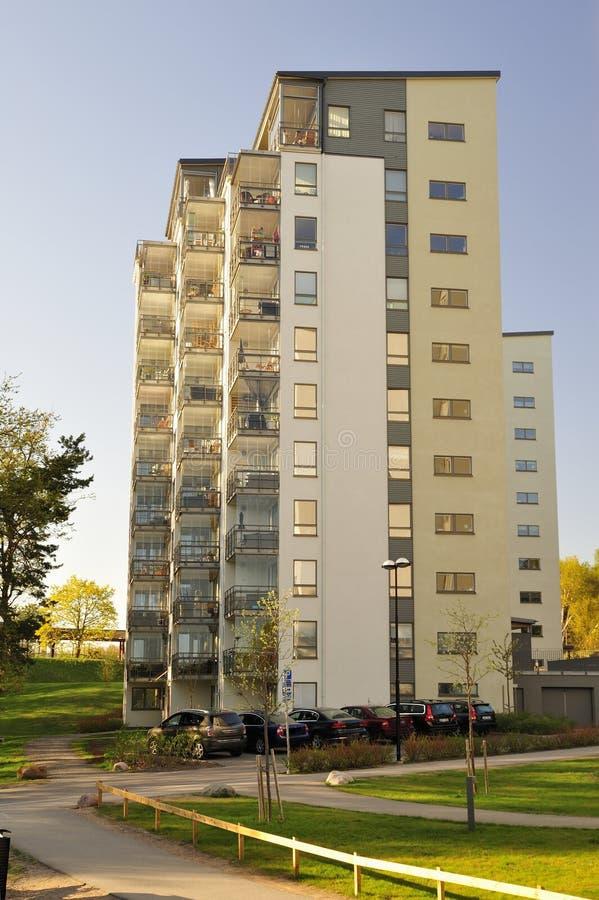 现代公寓 免版税库存照片
