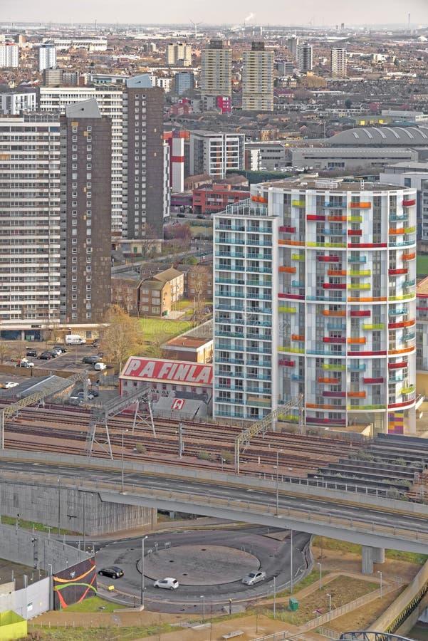 现代公寓builldings 免版税库存图片