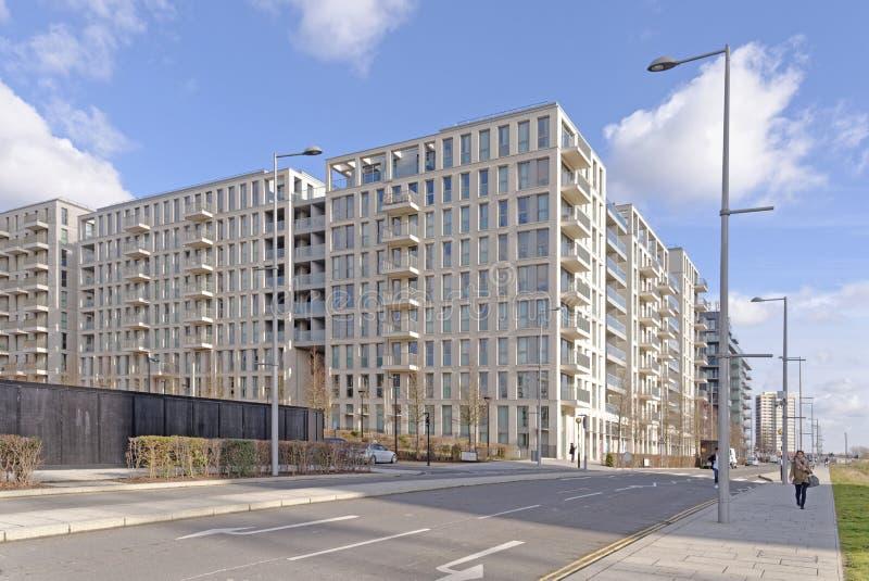 现代公寓builldings 免版税图库摄影