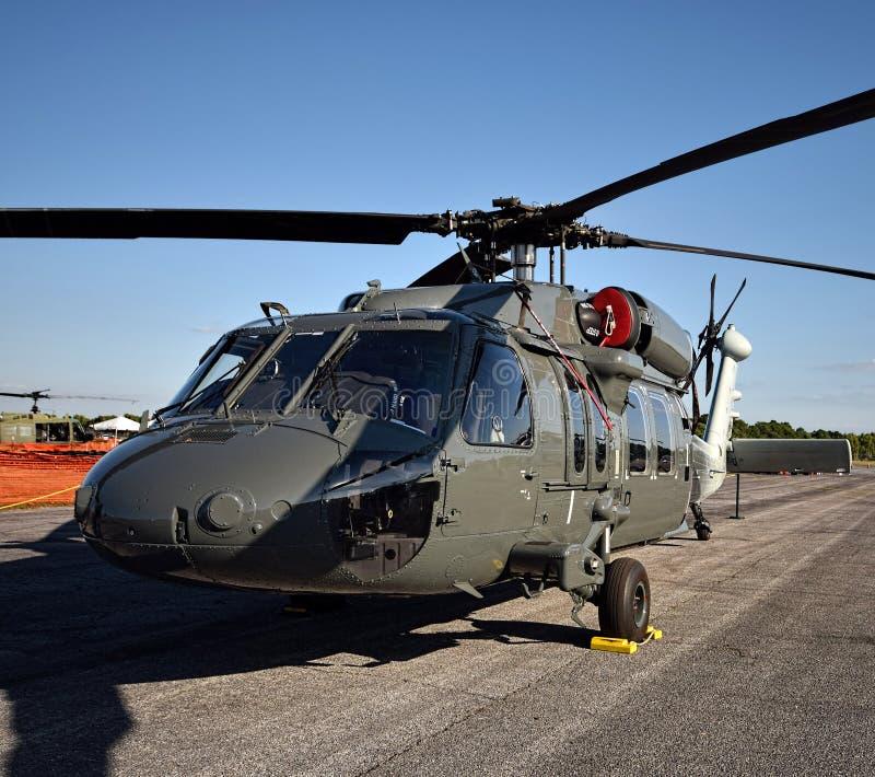 现代军用直升机 免版税库存照片
