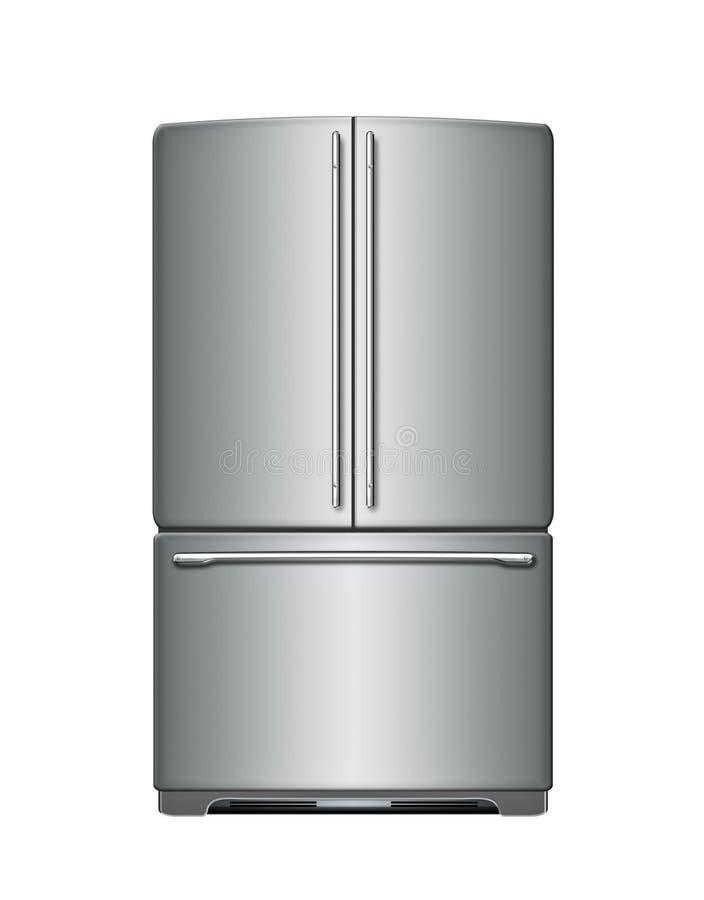 现代冰箱 皇族释放例证