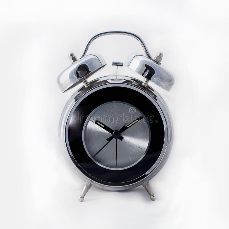 现代减速火箭的闹钟 库存照片
