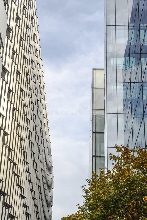 现代办公室,建筑学细节 库存照片