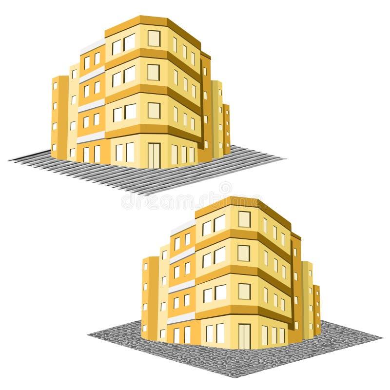 Download 现代办公楼,廉价公寓房地产 向量例证. 插画 包括有 楼层, 城市, 现代, 不动产, 任何地方, 概念 - 30327394