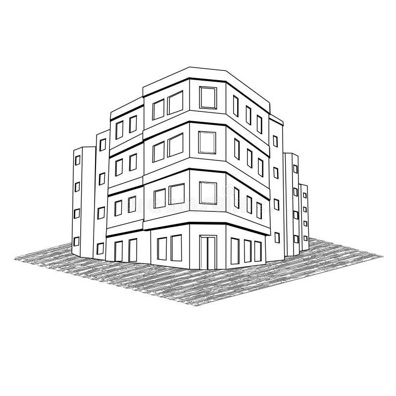 Download 现代办公楼,廉价公寓房地产 向量例证. 插画 包括有 不动产, 总公司, 庄园, 图标, 公司, 背包, 对象 - 30327431