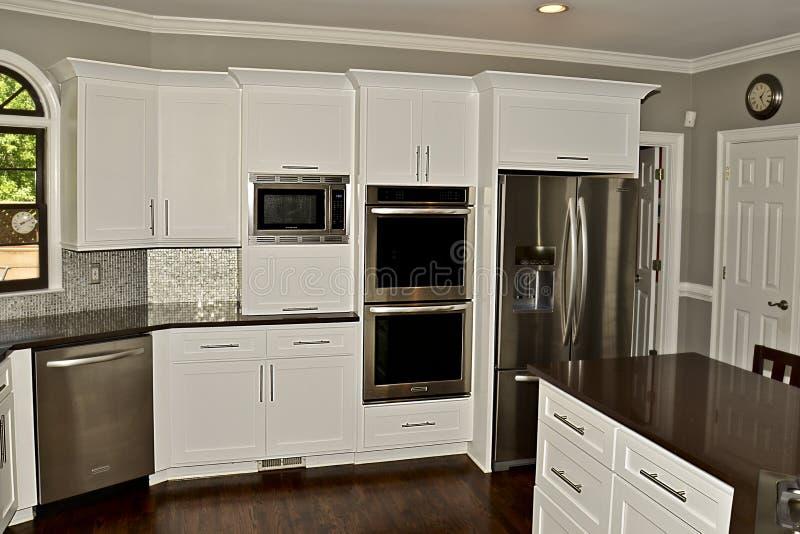 现代厨房区域02 库存图片