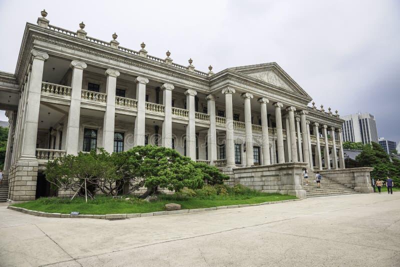 现代和当代艺术国家博物馆  免版税图库摄影