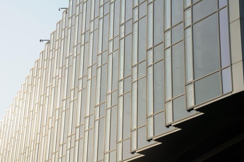 现代大厦的玻璃 免版税库存图片