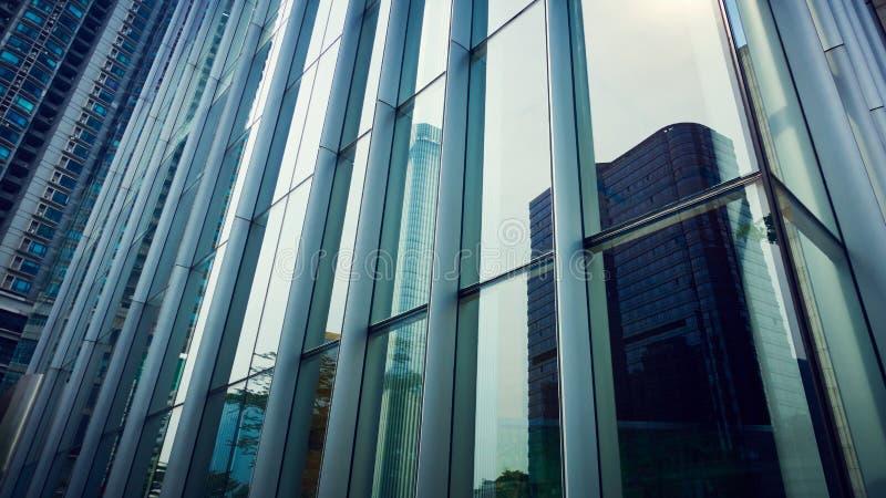 现代大厦的玻璃 图库摄影