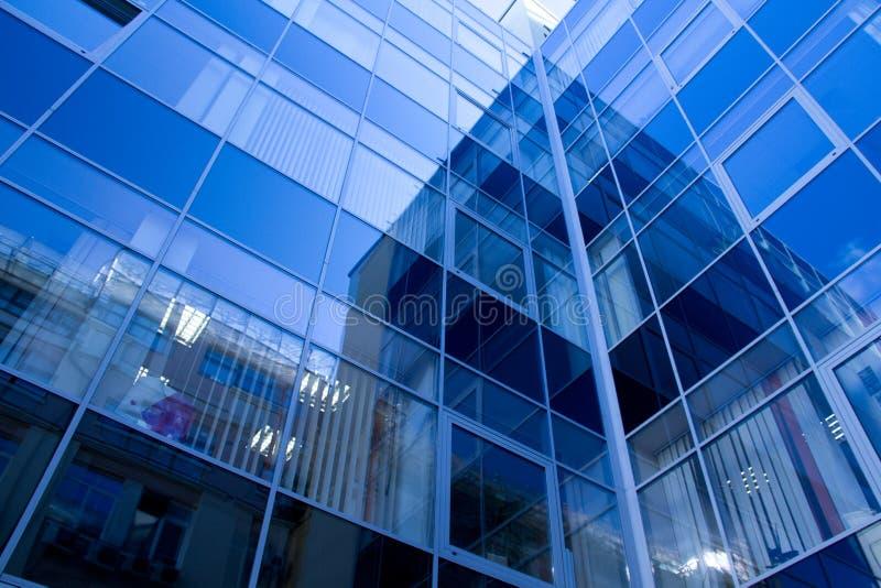 现代大厦的玻璃 免版税图库摄影