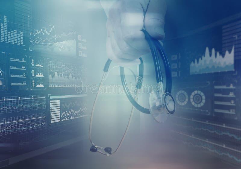 现代医学心脏病学概念 免版税库存图片