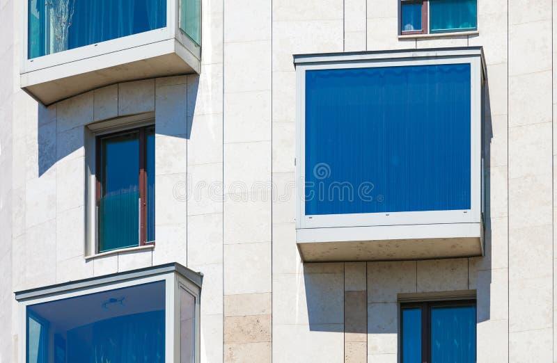现代居民住房 图库摄影