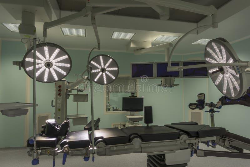 现代手术室 库存照片