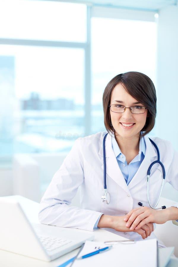 现代医护人员 库存照片