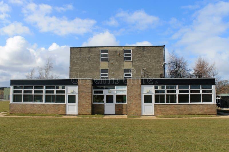 现代教学楼 库存照片