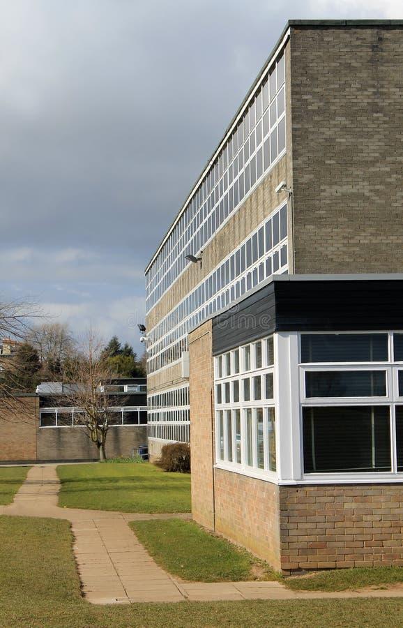 现代教学楼 免版税库存图片