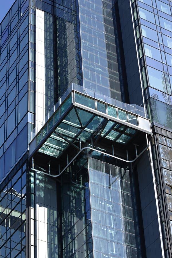 现代新的大厦 库存图片