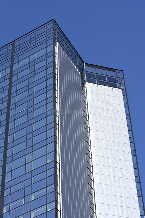 现代新的大厦 免版税库存图片