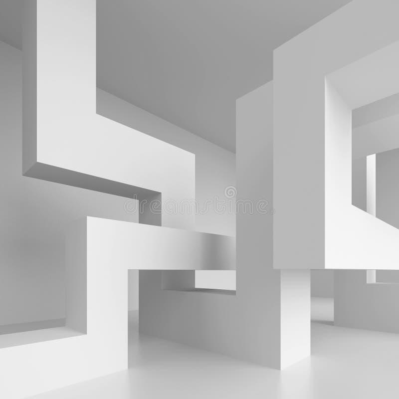现代结构的设计 皇族释放例证