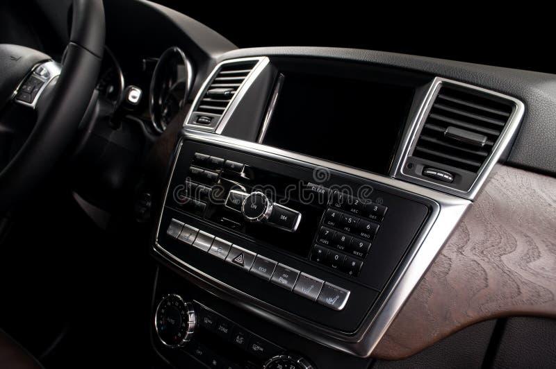 现代汽车的控制板 图库摄影