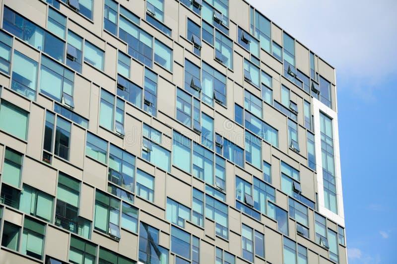 现代玻璃摩天大楼 图库摄影
