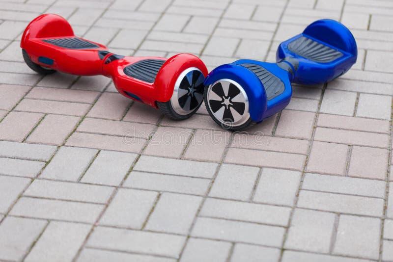 现代电微型segway翱翔委员会滑行车 库存照片