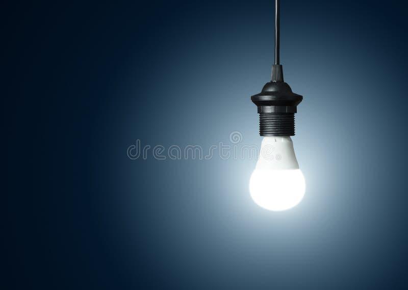 现代电灯泡 库存照片