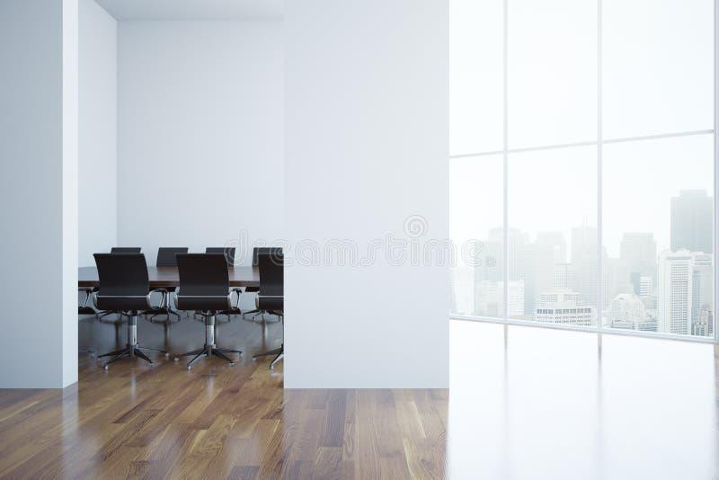 现代的会议室 向量例证