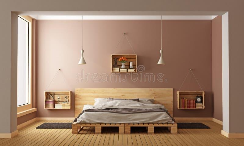 现代的卧室