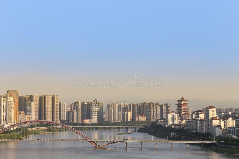 现代的城市 免版税图库摄影